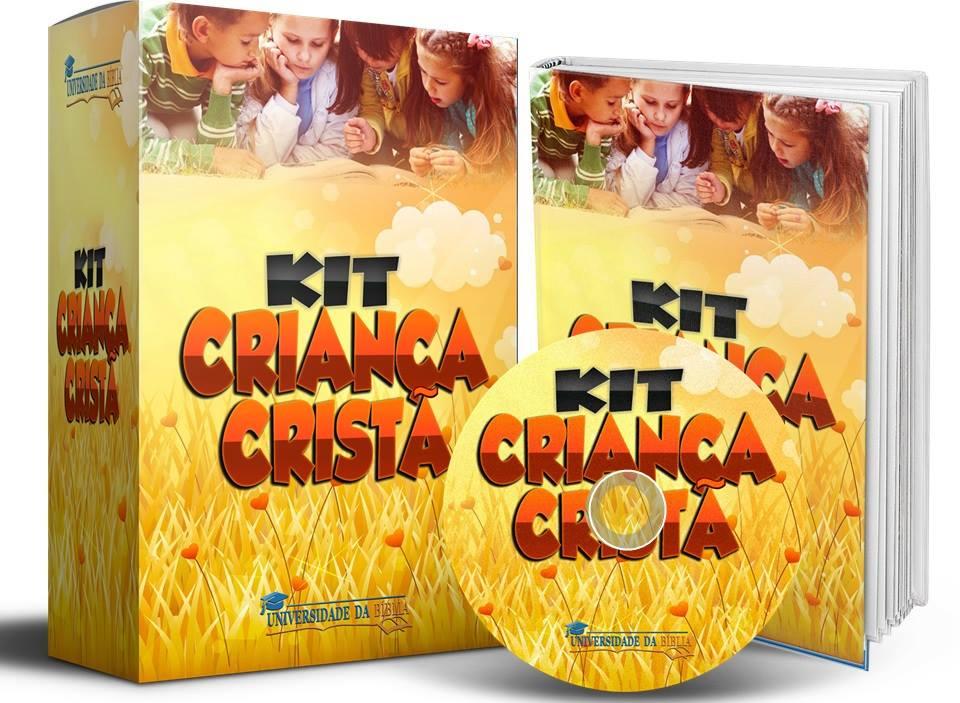 kit kid - Kit Criança Cristã
